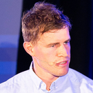 Former Ulster star Andrew Trimble speaking at the One-Zero event