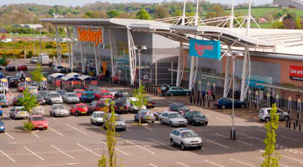 Sprucefield Park has a variety of tenants including Argos and Sainsbury's