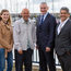 From left: Stella Kontogianni of Aecom, Wayne Hemingway of Hemingway Design, Stephen Reid of Ards and North Down Borough Council and Luis Juarez Galeana of Aecom