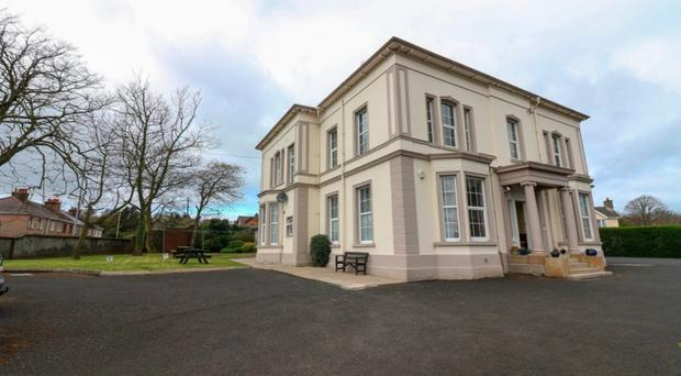 Breezemount Manor in Coleraine will be auctioned on October