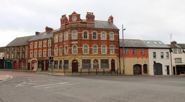 The Bank House Hotel is on Irish Street in Dungannon