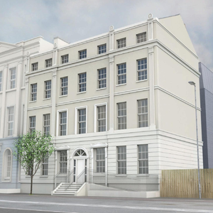 An artist's impression of how Wilton House will look after redevelopment