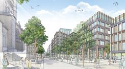 The controversial Belfast Tribeca redevelopment will transform parts of the Cathedral Quarter