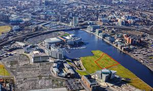 The location at Titanic Quarter for its new residential development