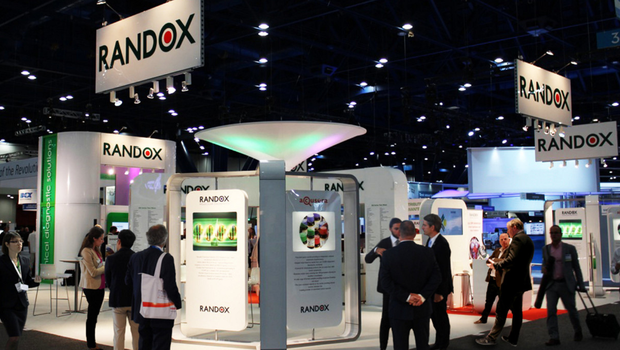 The Randox stand at the (AACC) Clinical Lab Expo