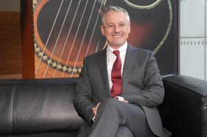 Kevin Holland, who is settling into his role at top of Invest NI
