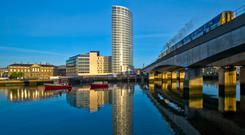 Offices at Obel development have been sold for over £15m