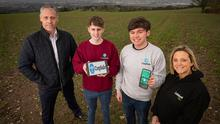 Gavin Kennedy, Bank of Ireland; Micheal McLaughlin and John McElhone from CropSafe; and Catalyst's Kerry McGarvey