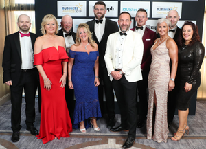 Staff from Vantage Health and Life at the awards