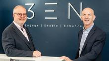 Dale Cree of 3EN Cloud and George McKinney from Invest NI