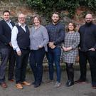 3EN Group's senior management team, Sharon-Louise McKay, Mark Bell, Dale Cree, Alison Cree, Ben Firth, Laura Blacklock and Adam Cree