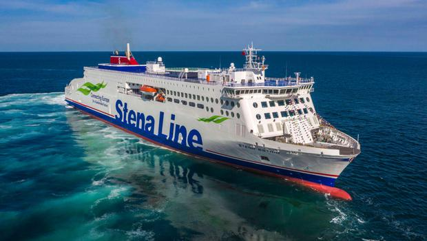 It will take the Stena Estrid a month to travel to Dublin