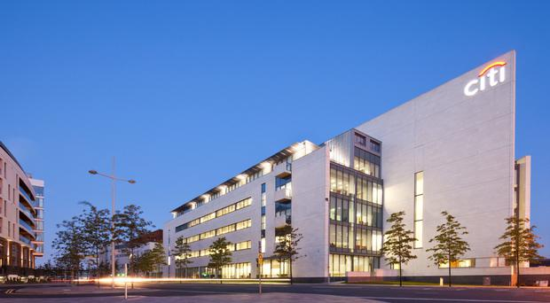 The Gateway Building at Titanic Quarter was bought for more than £34m by Citigroup in April