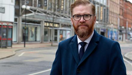 Challenges: Simon Hamilton is hopeful businesses have 'turned a page'. Credit: Stephen Hamilton