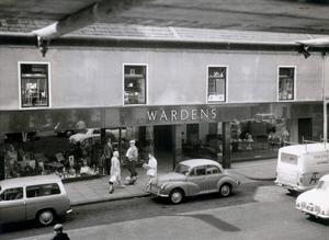 An old image of Wardens in Newtownards