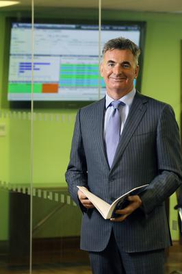 The late Brian Conlon, who founded First Derivatives in 1996
