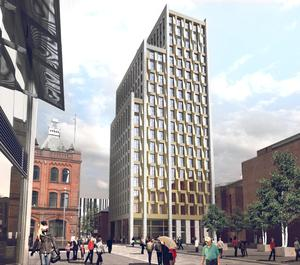 Artist's impressions of what the new building at Academy Street will look like on completion