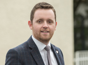 Concerns: The DUP's Gary Middleton
