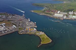 Goods destined for the Republic of Ireland coming through NI will be regulated when passing through NI ports