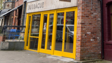The building housing Bubbacue on Botanic Avenue has come on the market