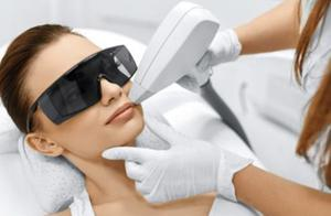 Treatment prices including laser procedures (pictured) will be frozen at salon