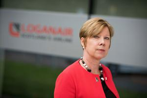Optimistic: Kay Ryan, Loganair's chief commercial officer