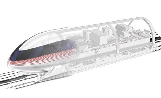 The winning pod design, created by a team of postgraduate students from MIT (Pic: MIT)