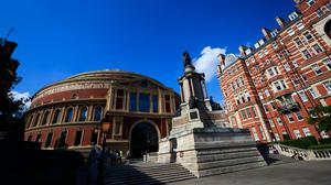 The Royal Albert Hall in South Kensington, which according to Rightmove, has been the slowest moving property market in recent weeks (PA)