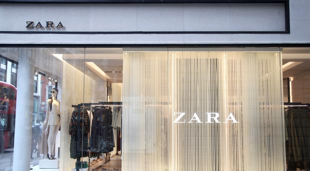 Zara is owned by Inditex (Yui Mok/PA)