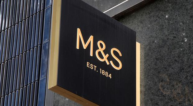Marks and Spencer posted a 7.8% fall in clothing and home sales in the half year to September 2019 (Yui Mok/PA)