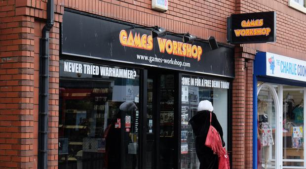 Games Workshop is set to post higher sales and profits in an update this week (Owen Humphrys/PA)