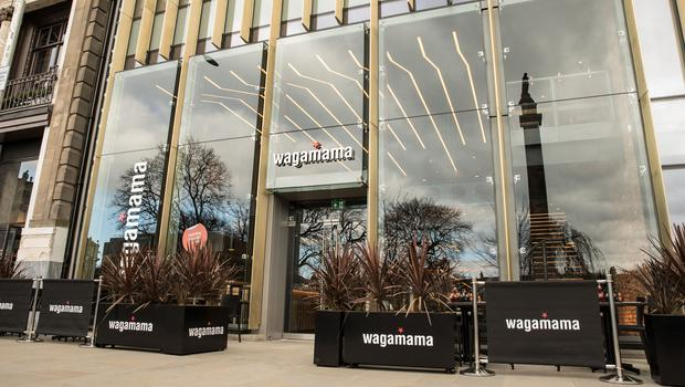 Wagamama sales grew at 6.3% in the second quarter (Wagamama/PA)