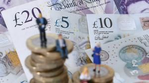 The survey found households' confidence in their future personal finances showed a small improvement in July as the determination to shore money up in savings grew (PA)