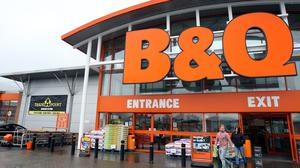 BandQ has been popular with customers keen to do some home improvements. (Ben Birchall / PA)