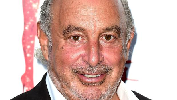 Sir Philip Green's retail empire spans from TopShop to Burton (PA)