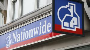 Nationwide will offer mortgages to people with deposits as low as 15% via brokers and online (PA)