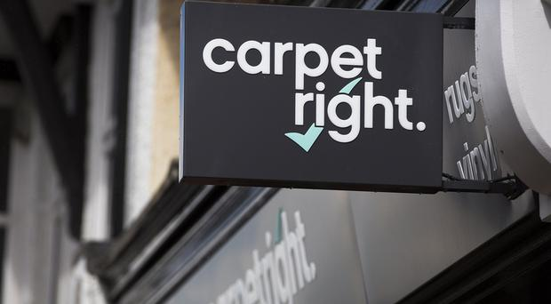 Carpetright thinks its net debt might nearly double by the end of the year (Jason Alden/Carpetright/PA)