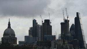 The London market was left trailing its European counterparts (PA)