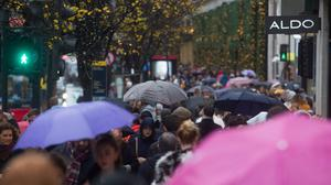 The latest Springboard footfall monitor said shoppers stayed away from high streets due to awful weather conditions (Peter Summers/PA)