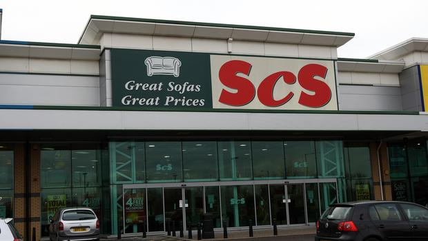 The sales decline at ScS marks a sharp reversal of the 4.2% rise over its year to July 27 (David Jones/PA)