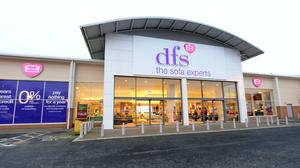 Retailer DFS Furniture has warned that up to 200 jobs may be cut across its Sofa Workshop and Dwell chains as the group braces for annual losses after a £271m sales hit from lockdown (Denis Kennedy/DFS Furniture/PA)