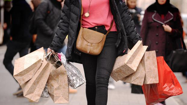 Retail sales were up 0.3% in August on the month before (Dominic Lipinski/PA)