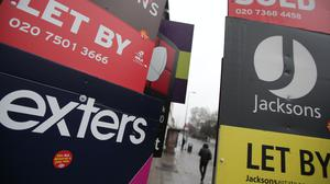 There were about six potential tenants for each home available to rent across Britain in June, according to estimates from Hamptons International (PA)