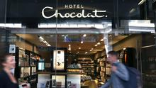 A Hotel Chocolat shop in Victoria, London as the company saw sales jump higher after growing in Japan and the US (Philip Toscano/PA)
