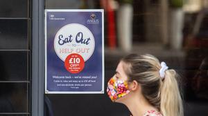 Just Eat Takeaway said its business has been unaffected by the Government's Eat Out To Help Out discount scheme (Dominic Lipinski/PA)
