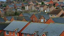 Rate of growth in house prices weakest in seven years.