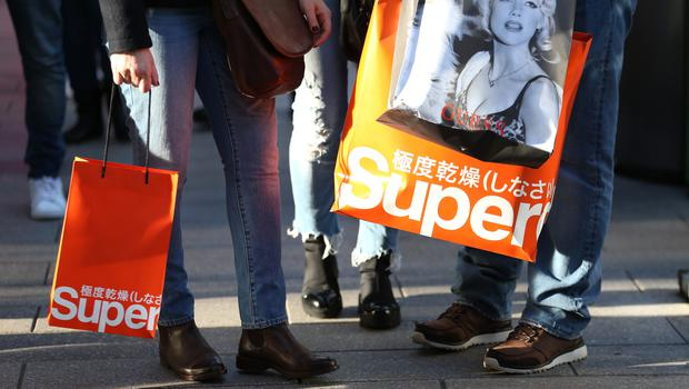 Superdry's co-founder stepped down from the board at the end of March (PA)
