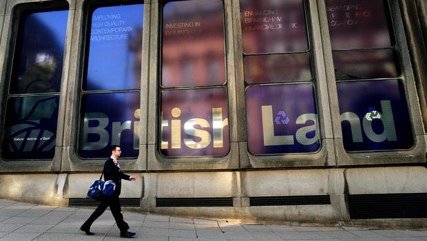 British Land posted widening losses after restructurings and closures by major retailers weighed on the shopping centre owner (Rui Vieira/PA)