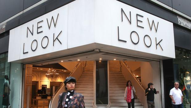 A branch of New Look on Oxford Street, as the company continues its turnaround (Yui Mok/PA)