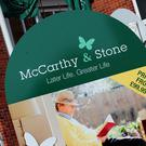 Retirement home builder McCarthy and Stone has revealed annual profits slumped by a quarter and warned the election kept recent trading under pressure (PA)